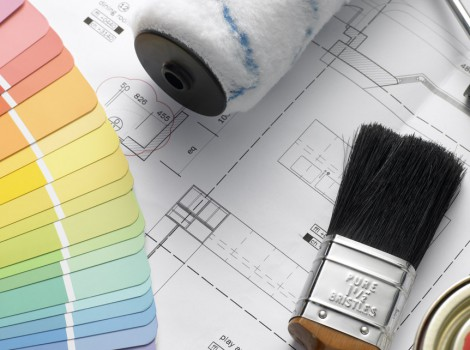 Brush Strokes Decorators and Painters - Responsive Website Design
