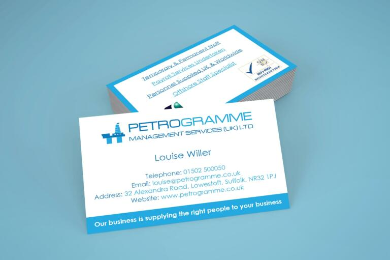 Petrogramme - Business Cards