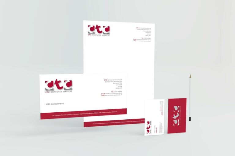 CTC Computers - Stationery Package