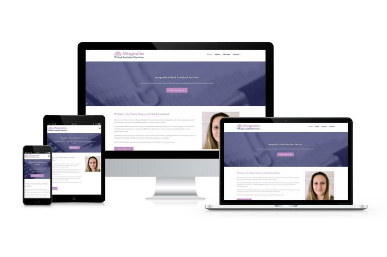 Magnolia Virtual Assistant Services - Responsive Website Design