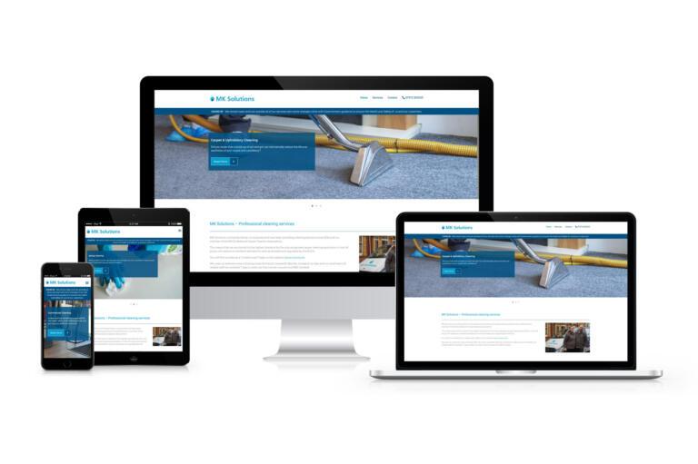MK Solutions - Website Design