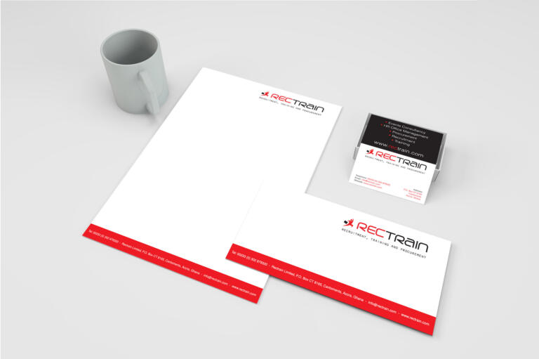 Rectrain - Stationery Package