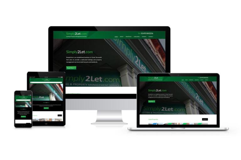 Simply 2 Let - Responsive Website Design
