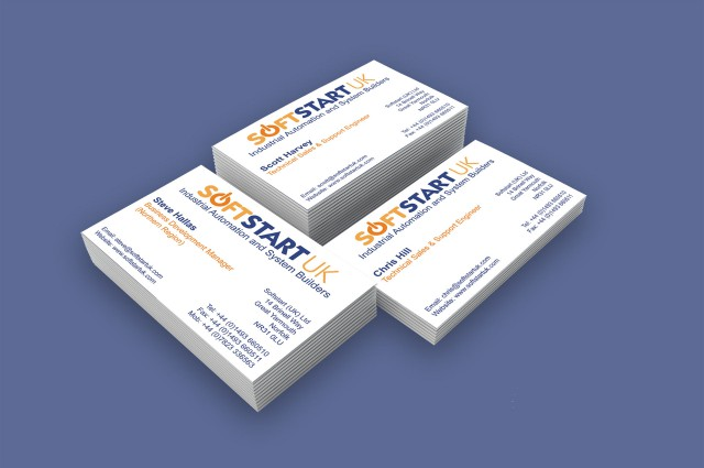 Softstart UK - Business Cards