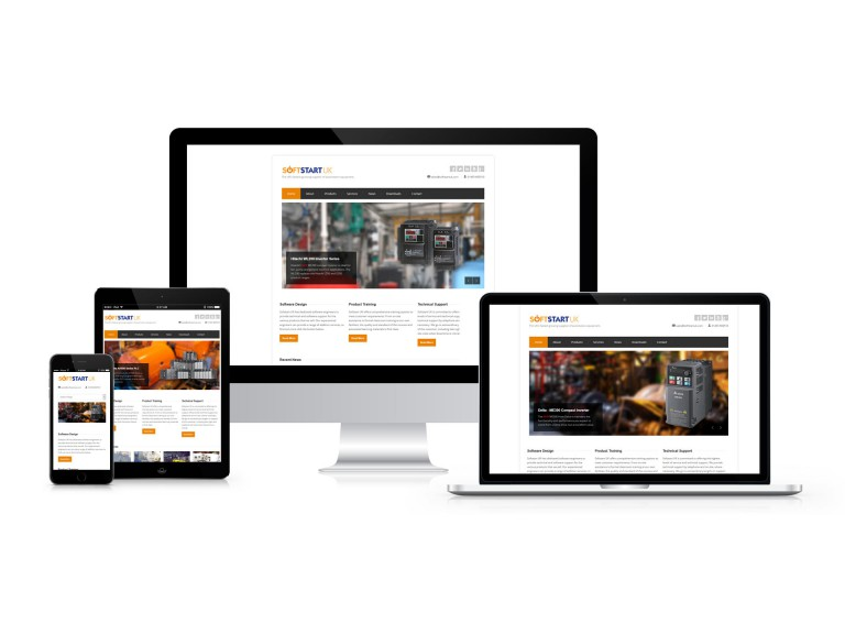 Softstart UK - Responsive Website Design