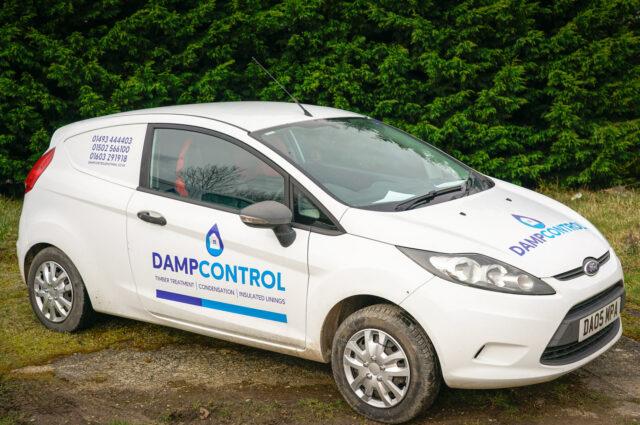 Damp Control Vans - Photography