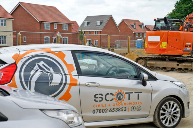 Scott Civils & Groundworks Vans