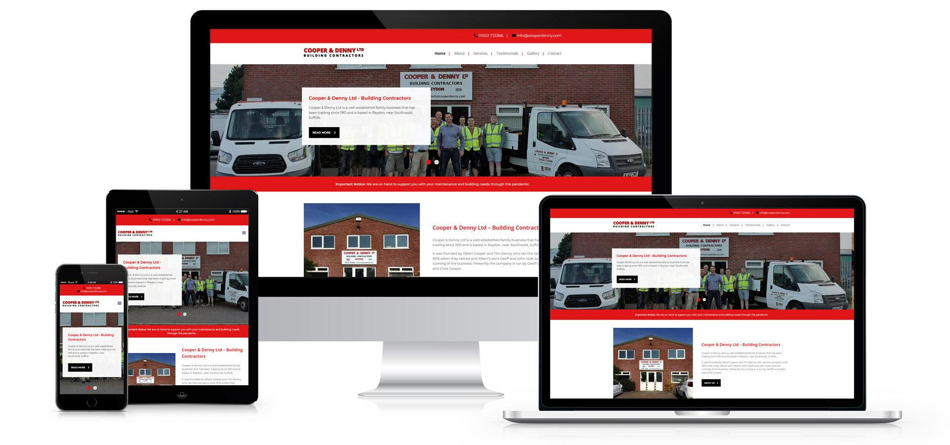 Cooper & Denny Website